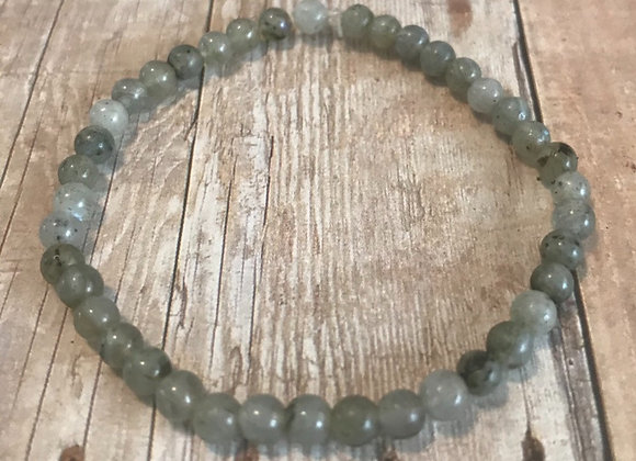 Labradorite Crystal Mini Gemstone Bracelet