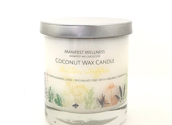 Butter Toffee Coconut Wax Candle