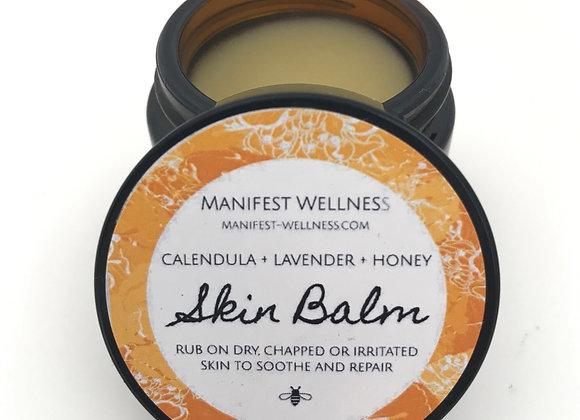 Skin Balm with Calendula, Lavender and Honey