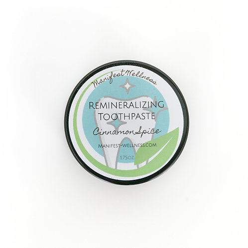 Cinnamon Spice Remineralizing Toothpaste