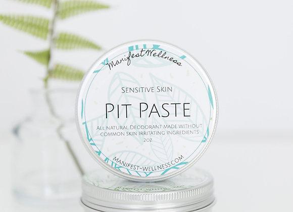 Pit Paste Deodorant for Sensitive Skin