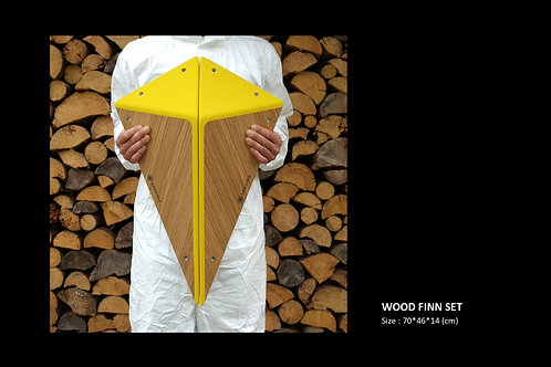 WOOD FINN SET