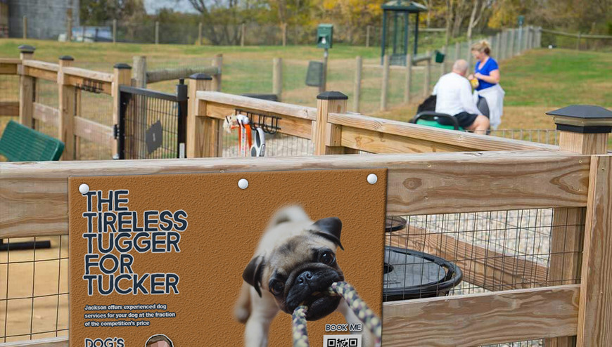 Dog Park Mockup