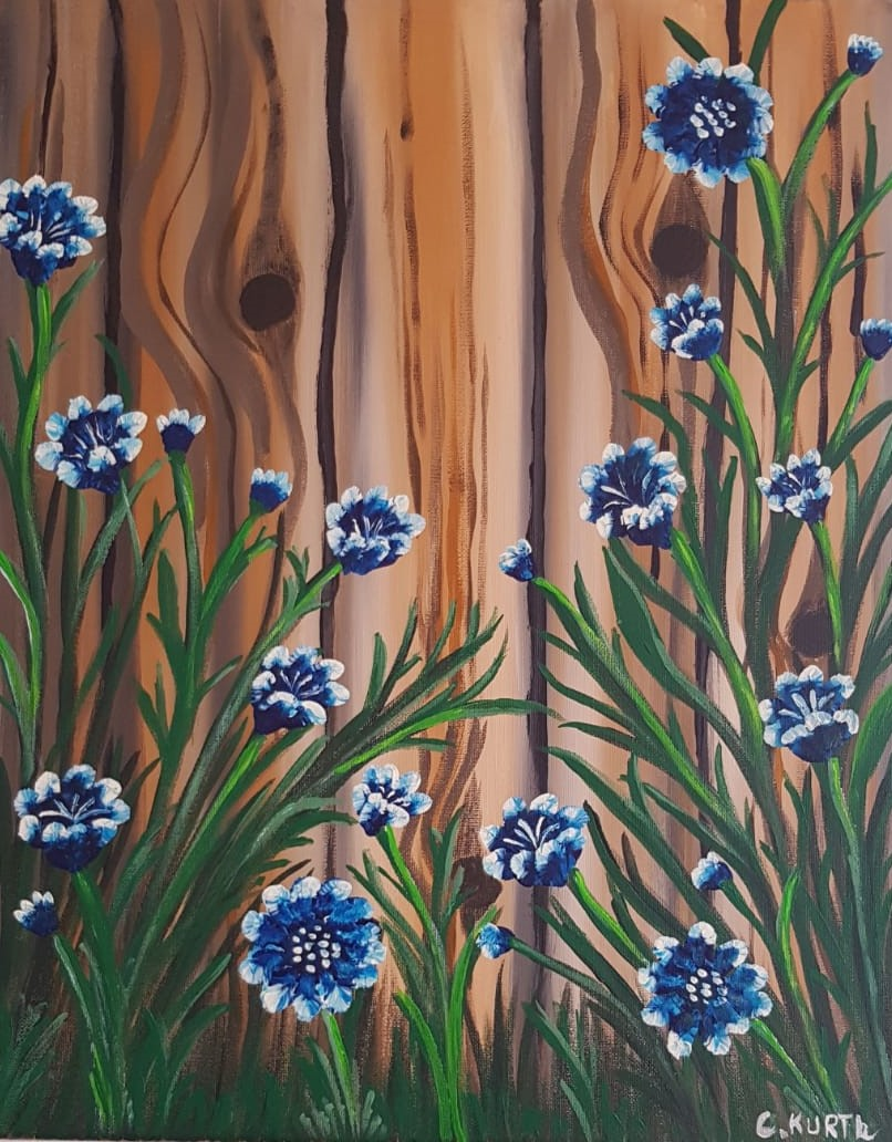 Blaue Blütenpracht