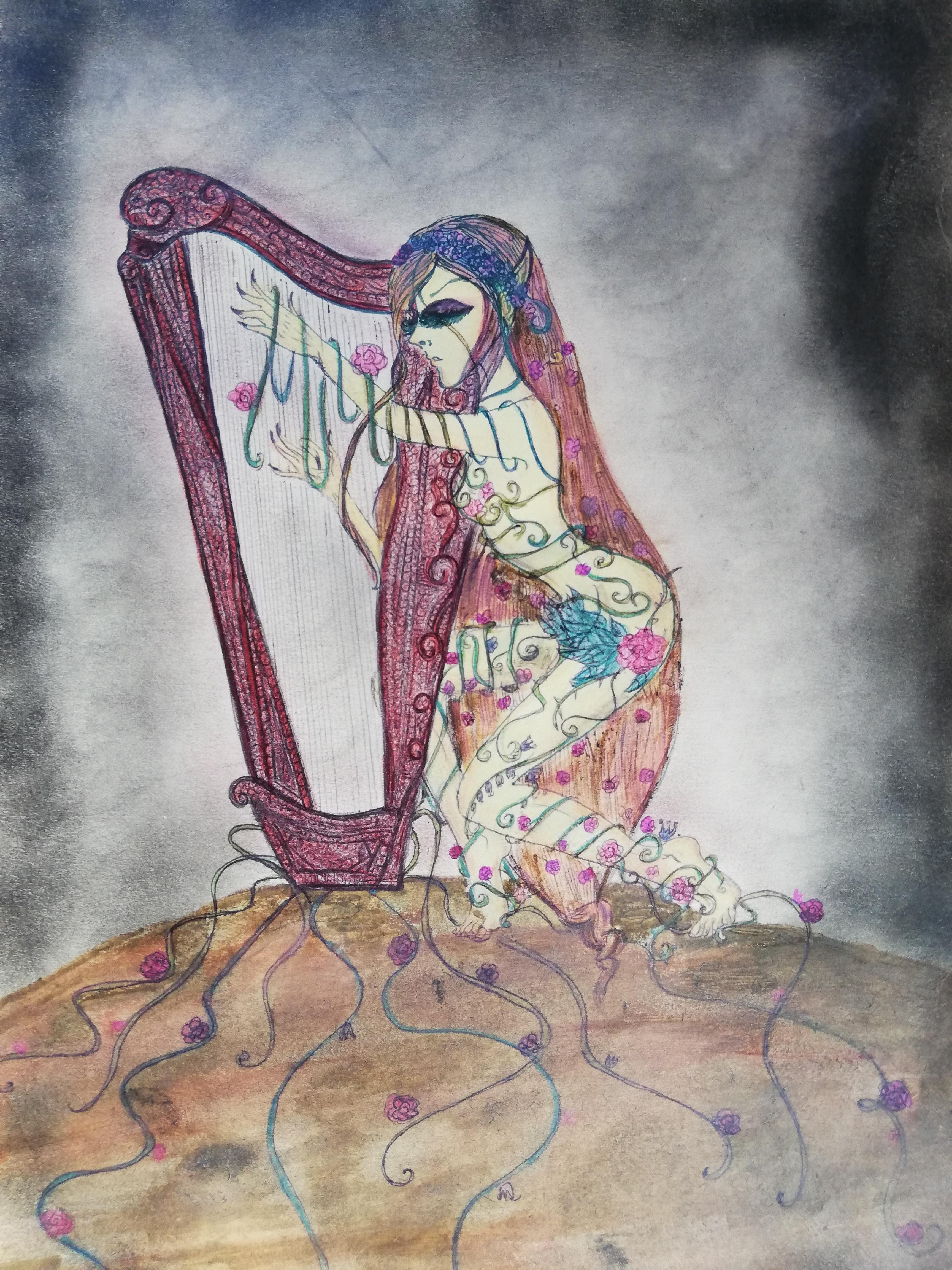 Die Harfenfee