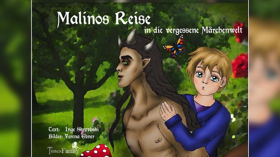 Malinos Reise in die vergessene Märchenwelt - Inge Skrzybski