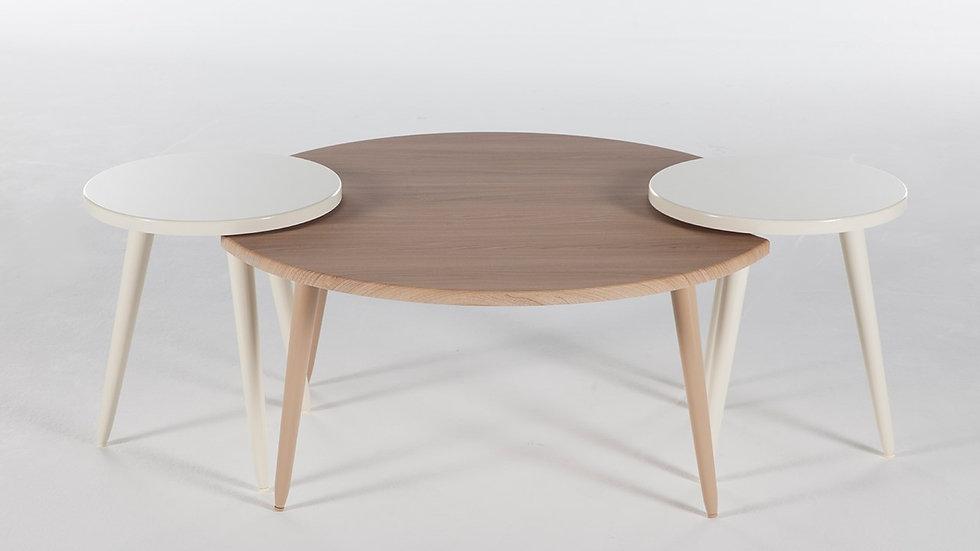 Molde 3 Piece Coffee Table Set