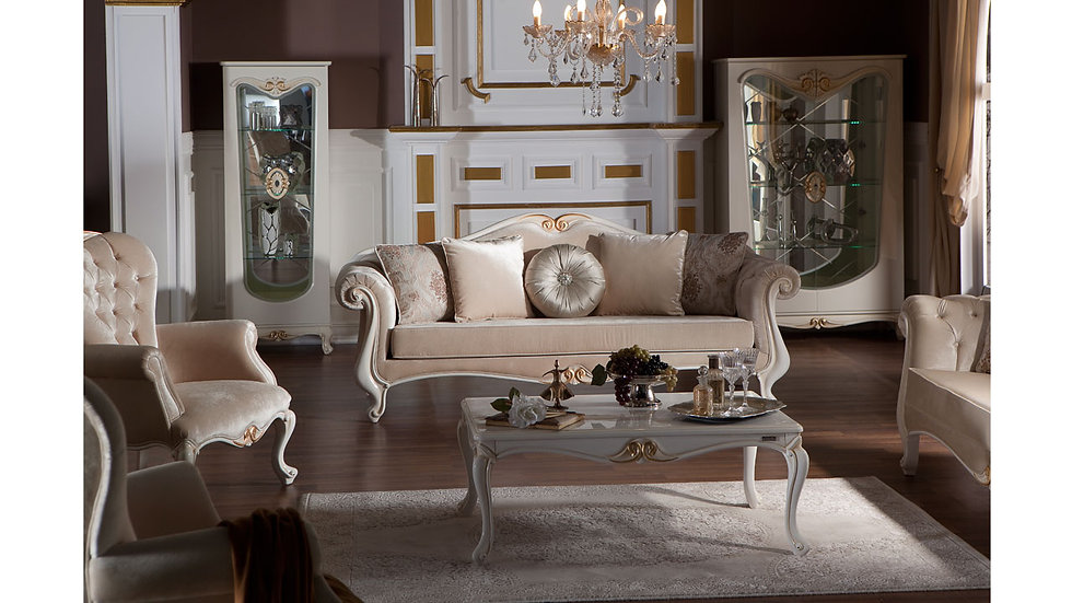 Queen Classic Sofa Set