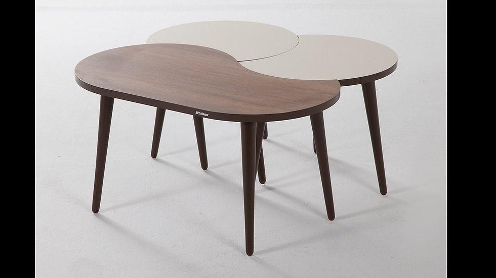 Crea 3 Piece Coffee Table