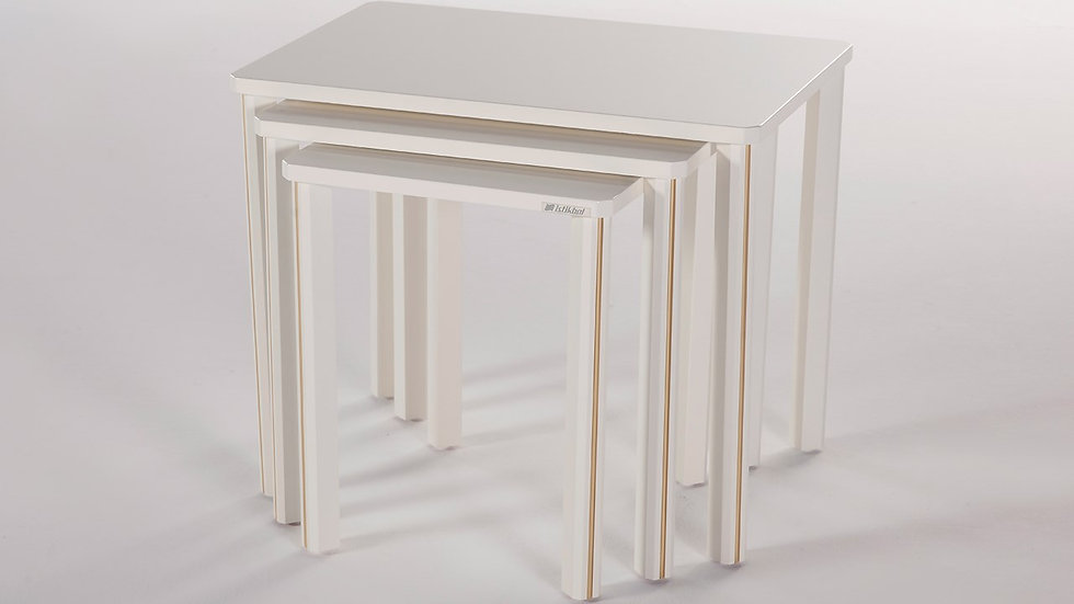 Gold Nest Of Tables