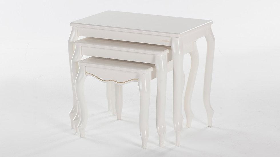 Golden Lukens Nest Of Tables
