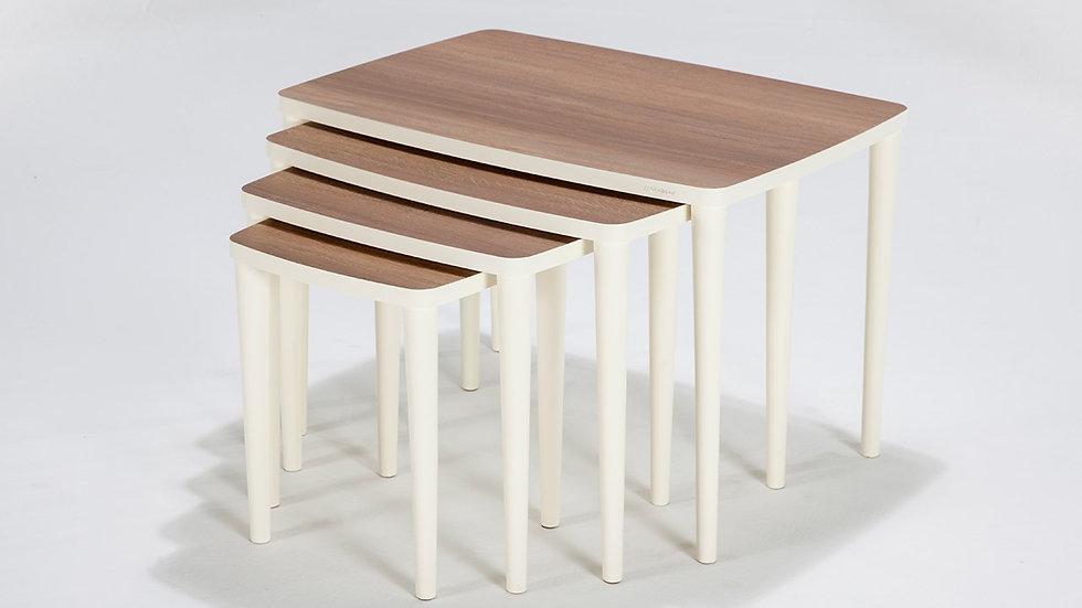 Crea 4 Piece Nest Of Tables