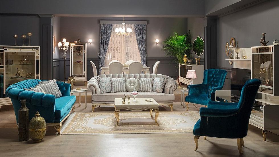 Elite Classic Sofa Set
