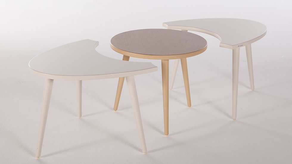 Lima 3 Piece Coffee Table Set