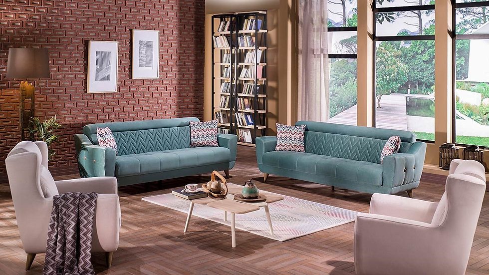 Molde Sofa Set