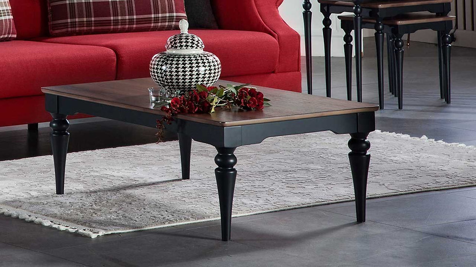 Pery Coffee Table - Dark Blue