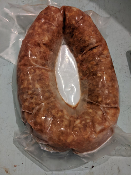 Cheddar and Jalapeño Sausage (1 ring)