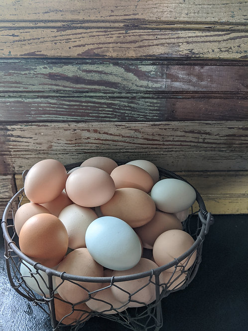 Chicken Eggs (1 dozen)