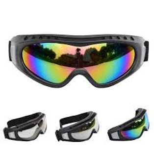 Scott Split OTG Adult Off-Road Motorcycle Goggles - Black/Grey Clear/One Size