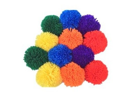 "Fluffilo 12-Pack: 3.5"" Rainbow Pack (6 colors)"