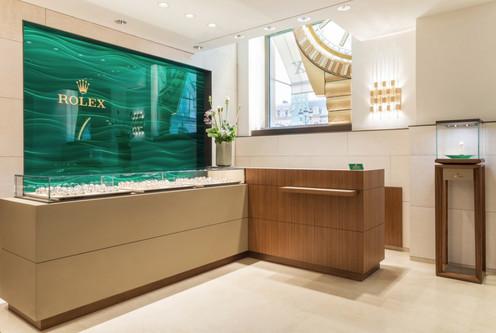 Boutique Rolex, place Vendôme