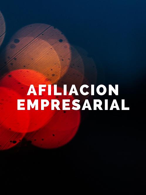 Afiliación Empresarial