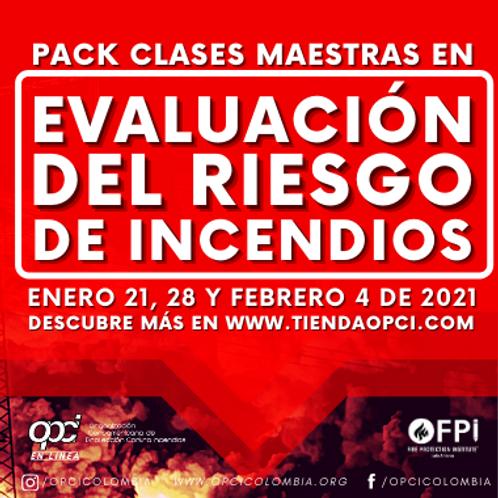 Pack Evaluación del Riesgo de Incendio