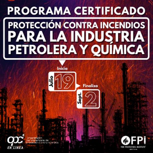 Protección contra Incendios para la Industria Petrolera y Química