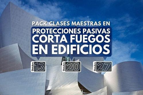 Pack Protecciones Pasivas Corta Fuegos en Edificios
