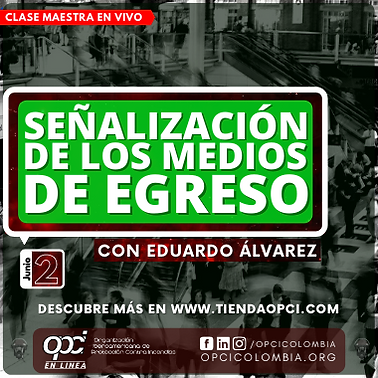 SEÑALIZACION MEDIOS DE EGRESO PORTADA VI