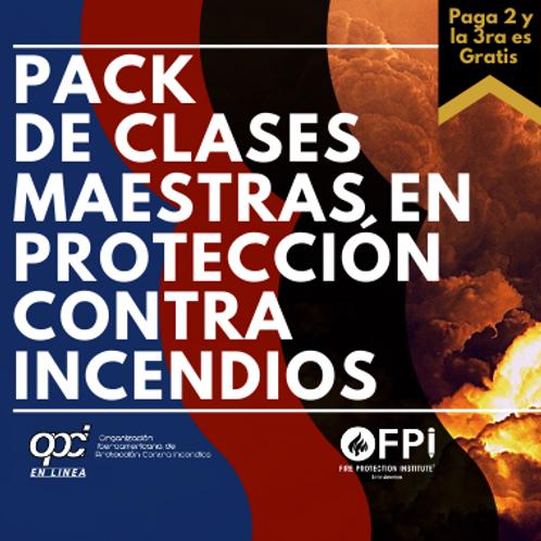 Pack en Protección Contra Incendios