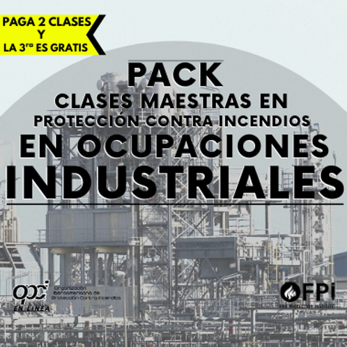 Pack en Ocupaciones Industriales