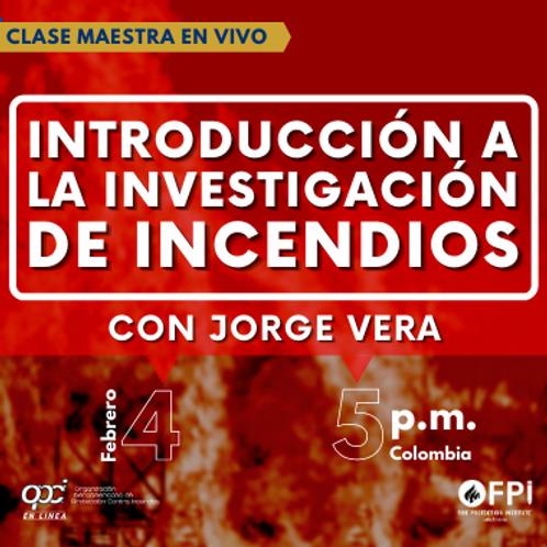 Introducción a la Investigación de Incendios
