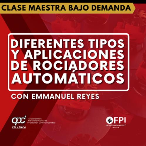Diferentes Tipos & Aplicaciones de Rociadores Automáticos