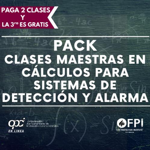 Pack de Cálculos para Sistemas de Detección y Alarma