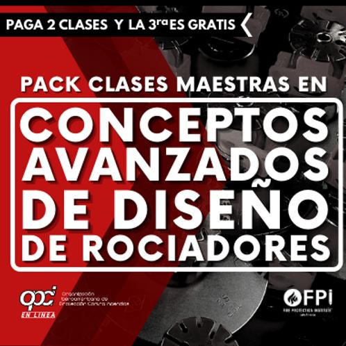 Pack Conceptos Avanzados de Diseño de Rociadores