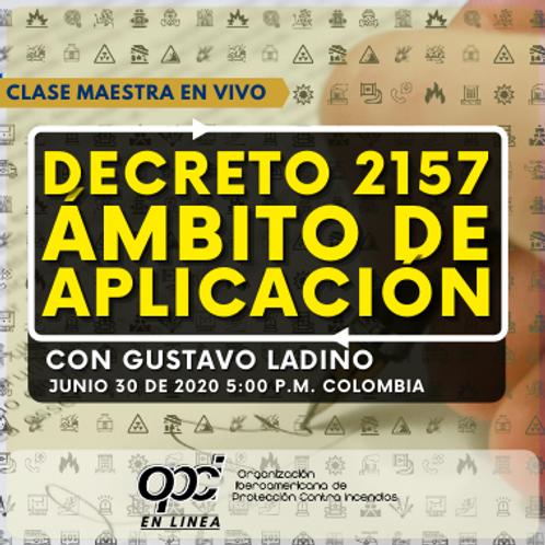 Decreto 2157 ambito de aplicación