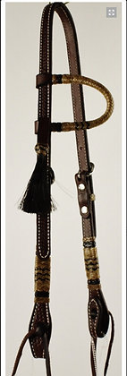One Ear Headstall with Rawhide