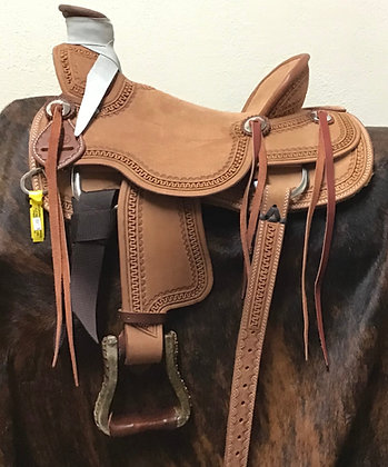 Diamond K Saddlery Youth Wade Saddle