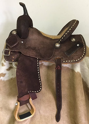 Elite Barrel Saddle Breast Collar Included