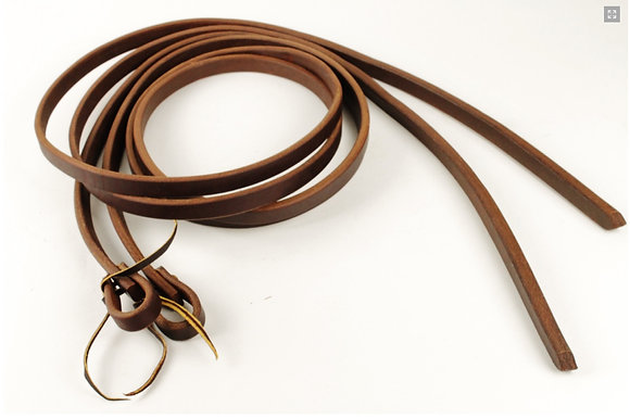 "3/4"" Heavy Oiled Harness Split Reins"