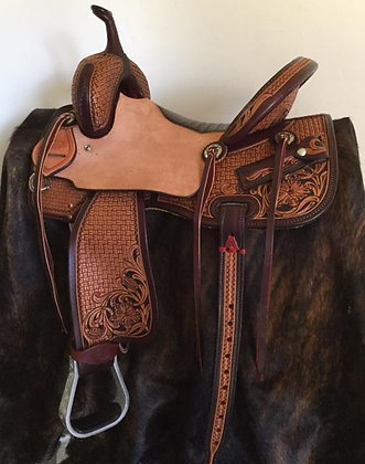 Elite Barrel Saddle
