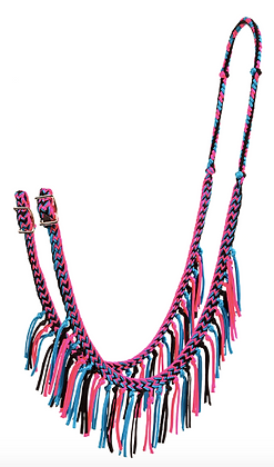 Braided Barrel Reins with Fringe