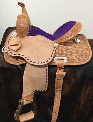 Diamond K Saddlery Barrel Saddle