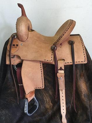 Elite Barrel Saddle Breast Collar Included