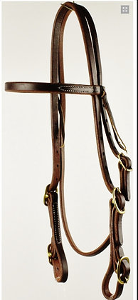 Browband Headstall with Buckle Ends