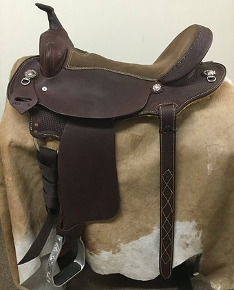 "16"" Diamond K Saddlery Trail Saddle"
