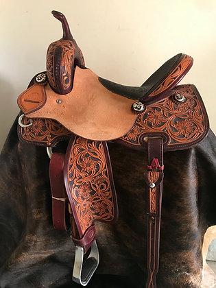 Elite Barrel Saddle