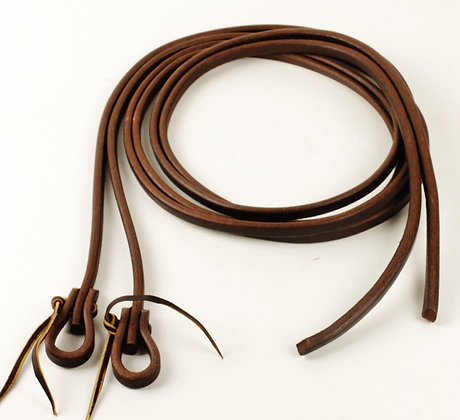 "5/8"" Heavy Oiled Harness Split Reins"