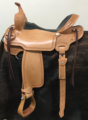 "16"" Diamond K Saddlery Light Trail Saddle"